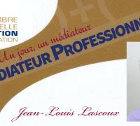 Un jour, un médiateur : Jean-Louis Lascoux
